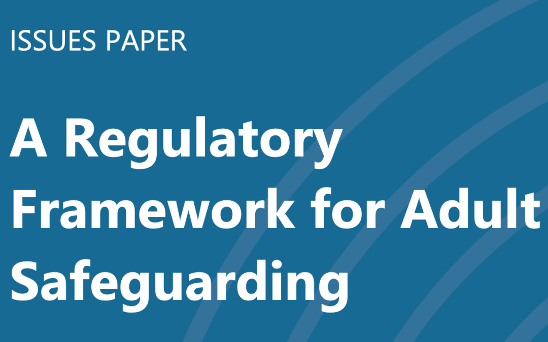 Safeguarding Ireland welcomes move towardsregulatory framework for adult safeguarding